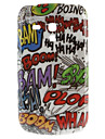 Scrawl Style Hard Case for Samsung Galaxy S3 Mini I8190