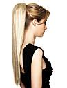 Высший сорт Синтетический длинный прямой хвост Blonde