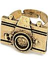 Alloy Vintage Camera Pattern Open Ring