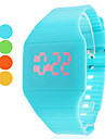 Women\'s Watch Fashion Touch Screen Red LED Digital Candy Color