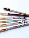 Lápis Padrão caneta gel tinta preta (cores aleatórias 1PCS)