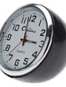"1"" Mini Analog Quartz Desktop Clock (Black, 1xButton Battery)"