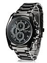 Men\'s Business Style Black Alloy Quartz Wrist Watch Cool Watch Unique Watch