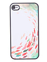 Fish Pattern Hard Case for iPhone 4/4S