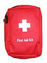 Нейлон водонепроницаемый первой помощи пакетов (Красный, 21 х 16 х 7,5)