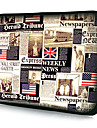 "Newspaper Pattern Waterproof Laptop Tablet Sleeve Case For 7"" 10"" 11"" 13"" 15"""
