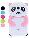 3D Design Panda moenster mykt etui for Samsung Galaxy S3 I9300 (assorterte farger)