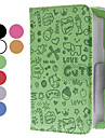 Pouco Mal Padrao Capa de Couro PU Menina com suporte para Samsung Galaxy Note N5100 8.0 (cores sortidas)