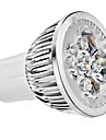 5W GU10 LED-spotlights MR16 4 Högeffekts-LED 330 LM Varmvit Kallvit AC 85-265 V 1 st