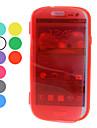 Funda Protectora Transparente para Samsung Galaxy S3 I9300 (Varios Colores)
