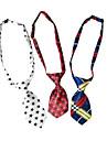 Mode Cosplay motif d\'impression Pet Tie pour chiens (couleurs aleatoires)