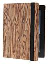 Tinte Tono aspero grano patron rotativo de 360 grados de caso completo de cuerpo con soporte para iPad 2/3/4
