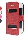 Adorable Cartoon Full Body Case with Double Holes in The Front for iPhone 4/4S (Assorted Colors)