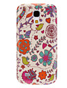 Lovely Flower Pattern Durable Hard Case for Samsung Galaxy S4 Mini I9190