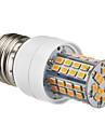 E27 5W 60x2385SMD 450-500LM 2700-3500K Warm White LED Lampadina del cereale (220-240V)