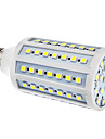 E27 15W 86x5050SMD 1200-1300LM 6000-6500K Natural White Light LED bulbo del maiz (110/220V)