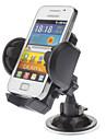 Parabrisas del coche universal giratoria titular de montaje para el iPhone, los telefonos celulares Samsung y otros