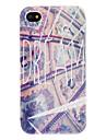 Western Fresco Pattern Hard Case for iPhone 4/4S
