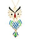 Z&x® пустые деятельность мило сова длинное ожерелье