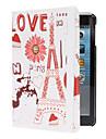 bloem gebouwd eiffel case w / stand voor iPad mini 3, ipad mini 2, ipad mini