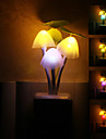 En forme de champignon colore LED Night Light
