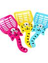 simpatico stile gatto gatto plastica sabbia pala per gatti (colore casuale)