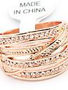 Fashion Alloy Gold Rhinestone Ring