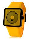 Relogio em Silicone (Amarelo)