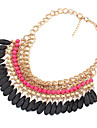 Necklace Choker Necklaces / Vintage Necklaces Jewelry Daily Fashion Alloy / Acrylic Red 1pc Gift