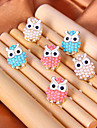Earring Animal Shape / Owl Stud Earrings Jewelry Women Daily Alloy