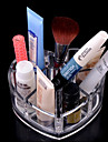 Rangement pour Maquillage Boite de maquillage / Rangement pour Maquillage Acrylique Couleur Pleine 11.5x9x5.7