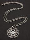 Bohemian Hollow Pattern Pendant Necklace Jewelry