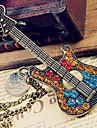 Retro camisola cadeia diamante guitarra N41 europeu e americano