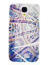 Wall Painting Pattern Hard Case for Samsung Galaxy S4 I9500