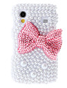 For Samsung Galaxy Case Rhinestone / Pattern Case Back Cover Case Cartoon PC Samsung Ace