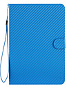 Blue Hand-Held Super Slim Auto-Sleep Case for iPad mini 3, iPad mini 2, iPad mini