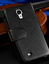 Multifunction Wallet Style Black PU Leather Durable Case with 7 Card Holders Slot for Samsung Galaxy S4 I9500