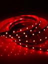 24W 5M 60x3528SMD 900-1200LM lumiere rouge de LED Light Strip (DC12V)
