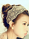 Sweet Multicolor Fabric Headbands For Women(Gray,White)(1 Pc)