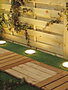 Solar Power Tour encastre Ponton Voie de jardin LED