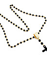 Perles de mode avec Croix collier pendentif