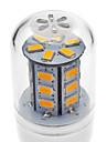 4W E14 / G9 / GU10 / E26/E27 LED Corn Lights T 24 SMD 5730 330-380 lm Warm White / Cool White AC 220-240 V