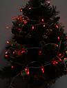 Pisca Pisca 10M 100 LED Luz Vermelha Fita de Luz LED Decoracao de Natal (220-240V)