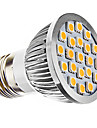 3W E26/E27 Spot LED MR16 21 SMD 5050 240 lm Blanc Chaud AC 110-130 / AC 100-240 V