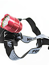 Bike Light , Front Bike Light / Headlamps - 3 Mode Lumens 18650 AC Cycling/Bike Random Color Bike Others