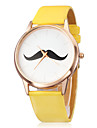 Women\'s Watch Minimalism Design Beard Pattern