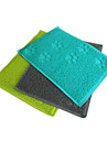 Stylish Square Shape with Paw Pattern Mat for Pets Dogs Cats (Assorted Colors)