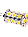 5W G4 LED лампы типа Корн T 24 SMD 5050 370 lm Тёплый белый DC 12 V