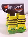 Dog Socks & Boots - S / M / L - Winter - Yellow Cotton