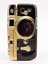 Retro Camera Pattern Case Cover til Galaxy 3 i9300